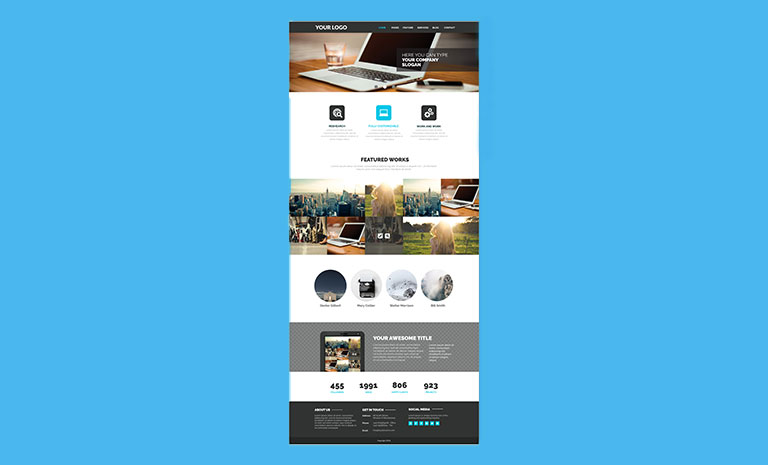 Redesign your homepage